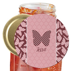 Polka Dot Butterfly Jar Opener (Personalized)