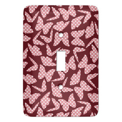 Polka Dot Butterfly Light Switch Covers - Multiple Toggle Options Available (Personalized)