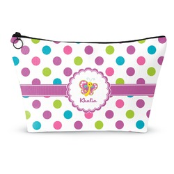 Polka Dot Butterfly Makeup Bags (Personalized)