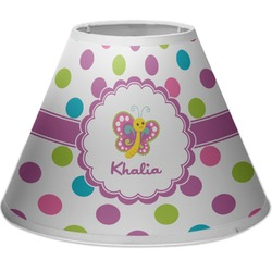 Polka Dot Butterfly Empire Lamp Shade (Personalized)