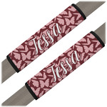 Polka Dot Butterfly Seat Belt Covers (Set of 2) (Personalized)