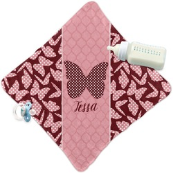 Polka Dot Butterfly Security Blanket (Personalized)