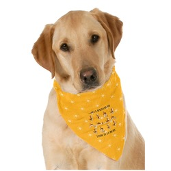 Yoga Dogs Sun Salutations Pet Bandanas (Personalized)