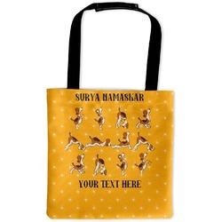 Yoga Dogs Sun Salutations Auto Back Seat Organizer Bag (Personalized)