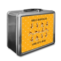 Yoga Dogs Sun Salutations Lunch Box (Personalized)