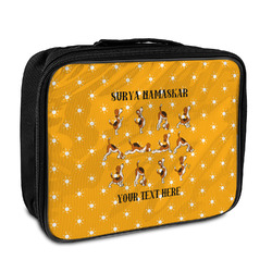 Yoga Dogs Sun Salutations Insulated Lunch Bag (Personalized)