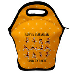 Yoga Dogs Sun Salutations Lunch Bag w/ Name or Text