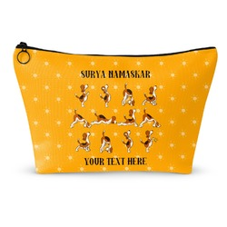 Yoga Dogs Sun Salutations Makeup Bags (Personalized)
