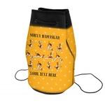 Yoga Dogs Sun Salutations Neoprene Drawstring Backpack (Personalized)