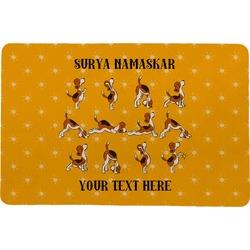 Yoga Dogs Sun Salutations Comfort Mat (Personalized)