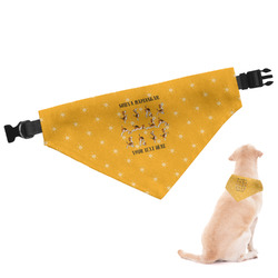 Yoga Dogs Sun Salutations Dog Bandana (Personalized)