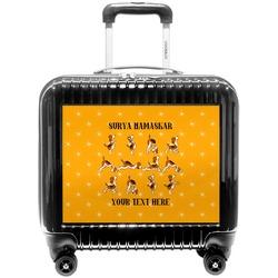 Yoga Dogs Sun Salutations Pilot / Flight Suitcase (Personalized)