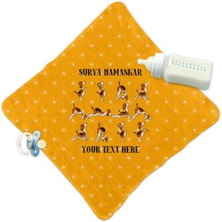 Yoga Dogs Sun Salutations Security Blanket (Personalized)