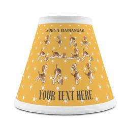 Yoga Dogs Sun Salutations Chandelier Lamp Shade (Personalized)