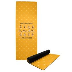 Yoga Dogs Sun Salutations Yoga Mat (Personalized)