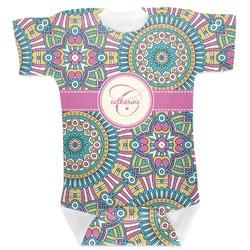 Bohemian Art Baby Bodysuit (Personalized)