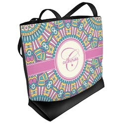 Bohemian Art Beach Tote Bag (Personalized)