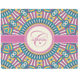 Bohemian Art Placemat (Fabric) (Personalized)