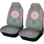 Bohemian Art Car Seat Covers (Set of Two) (Personalized)