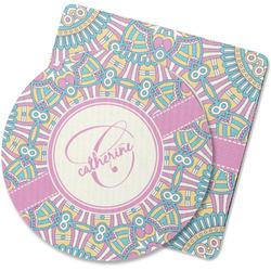 Bohemian Art Rubber Backed Coaster (Personalized)
