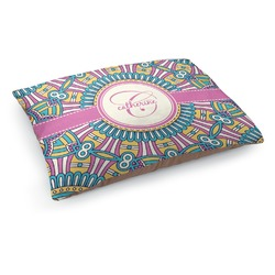 Bohemian Art Dog Bed (Personalized)
