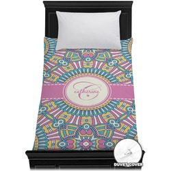 Bohemian Art Duvet Cover - Twin (Personalized)