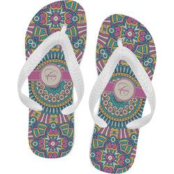 Bohemian Art Flip Flops (Personalized)