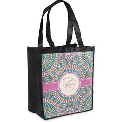 Bohemian Art Grocery Bag (Personalized)