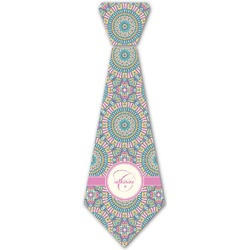 Bohemian Art Iron On Tie (Personalized)