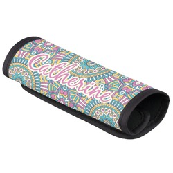 Bohemian Art Luggage Handle Cover (Personalized)