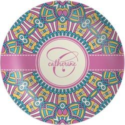 Bohemian Art Melamine Plate (Personalized)