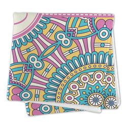 Bohemian Art Large Microfiber Dish Rag (Personalized)