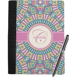 Bohemian Art Notebook Padfolio (Personalized)