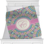 Bohemian Art Minky Blanket (Personalized)