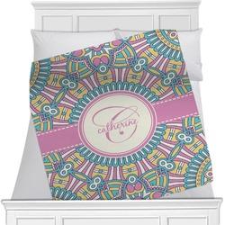 Bohemian Art Minky Blanket (Personalized)