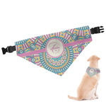 Bohemian Art Dog Bandana (Personalized)