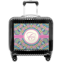 Bohemian Art Pilot / Flight Suitcase (Personalized)