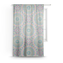 "Bohemian Art Sheer Curtain - 50""x84"" (Personalized)"