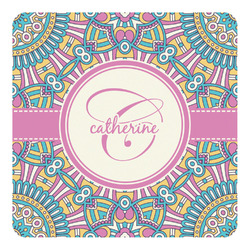 Bohemian Art Square Decal (Personalized)