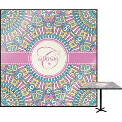 Bohemian Art Square Table Top (Personalized)