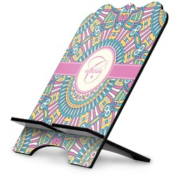 Bohemian Art Stylized Tablet Stand (Personalized)