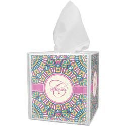 Bohemian Art Tissue Box Cover (Personalized)