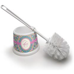 Bohemian Art Toilet Brush (Personalized)