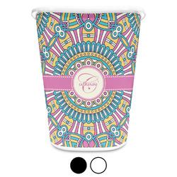 Bohemian Art Waste Basket (Personalized)