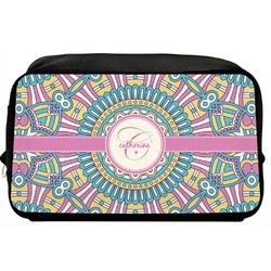 Bohemian Art Toiletry Bag / Dopp Kit (Personalized)