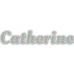 Bohemian Art Name/Text Decal - Custom Sized (Personalized)