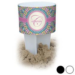 Bohemian Art Beach Spiker Drink Holder (Personalized)