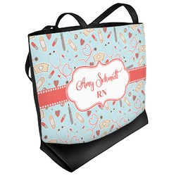 Nurse Beach Tote Bag (Personalized)