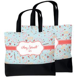 Nurse Beach Tote Bag (Personalized)