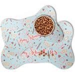 Nurse Bone Shaped Dog Food Mat (Personalized)